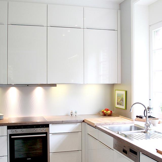 Küchenhängeschrank weiß  Küchen-Impressionen — Küche Elsbecker Coesfeld
